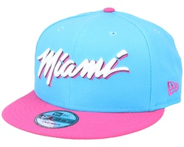 Miami Heat 9Fifty Light Blue/Pink Snapback - New Era