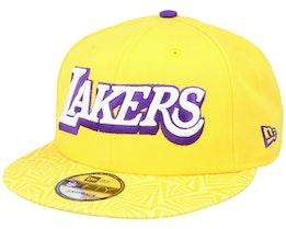 LA Lakers 9FIfty Yellow/Purple Snapback - New Era