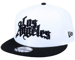 LA Clippers 9Fifty White/Black Snapback - New Era
