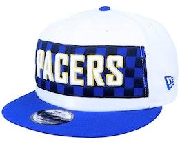 Indiana Pacers 9Fifty White/Blue Snapback - New Era