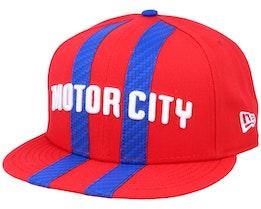 Detroit Pistons 9Fifty Red/Blue Snapback - New Era