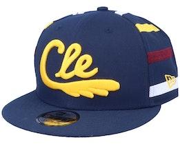 Cleveland Cavaliers 9Fifty Navy/Yellow Snapback - New Era