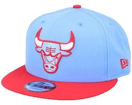 Chicago Bulls 9Fifty Light Blue/Red Snapback - New Era