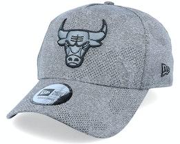 Chicago Bulls Engineered Plus Heather Grey/Black Adjustable - New Era