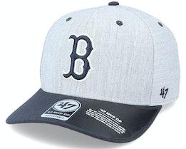 Boston Red Sox Storm Cloud TT Mvp DP Heather Grey/Navy Adjustable - 47 Brand