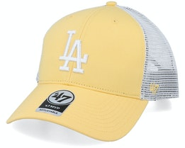 Los Angeles Dodgers Flagship Mvp Maize/White Trucker - 47 Brand