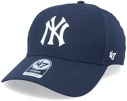 New York Yankees Mvp Momentum Navy/White Adjustable - 47 Brand