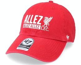Liverpool FC Clean Up Allez Red Dad Cap - 47 Brand