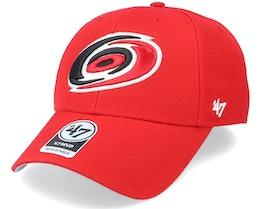 Carolina Hurricanes Mvp Red/White Adjustable - 47 Brand