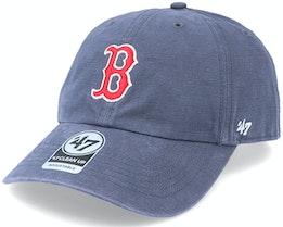 Boston Red Sox Upland Clean Up Dad Cap Vintage Navy Adjustable - 47 Brand