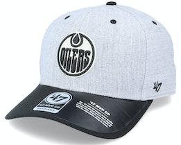 Edmonton Oilers Storm Cloud TT Mvp DP Heather Grey/Black Adjustable - 47 Brand