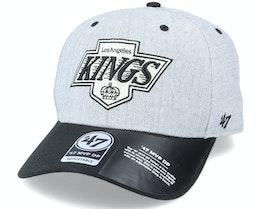 Los Angeles Kings Storm Cloud TT Mvp DP Heather Grey/Black Adjustable - 47 Brand