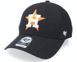 Houston Astros Houston Astros Mvp Black Adjustable - 47 Brand