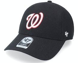 Washington Nationals Mvp Black Adjustable - 47 Brand