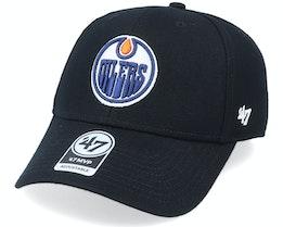 Edmonton Oilers Mvp Black/White Adjustable - 47 Brand