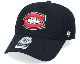 Montreal Canadiens Mvp Black/Red Adjustable - 47 Brand