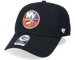 New York Islanders Mvp Logo Black/Orange Adjustable - 47 Brand