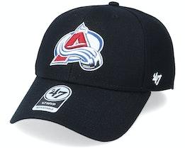 Colorado Avalanche Mvp Black/White Adjustable - 47 Brand