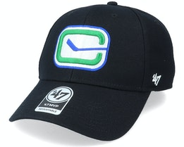 Vancouver Canucks Mvp Black/White Adjustable - 47 Brand