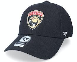 Florida Panthers Mvp Black Adjustable - 47 Brand
