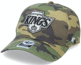 Los Angeles Kings Grove Mvp DT Camo Adjustable - 47 Brand