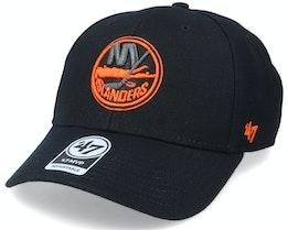 New York Islanders Mvp Black/Orange Adjustable - 47 Brand