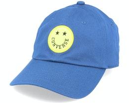 Happy Camper Baseball Court Blue Adjustable - Converse