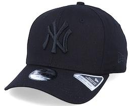 Kids New York Yankees Tonal 9Fifty Stretch Snap Black/Black Adjustable - New Era