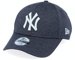 Kids New York Yankees Team Shadow Tech 9Forty Dark Blue/Silver Adjustable - New Era