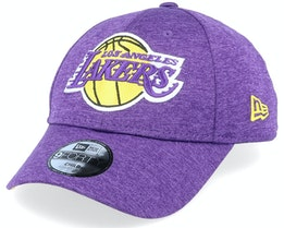 Kids LA Lakers Shadow Tech 9Forty Purple Adjustable - New Era