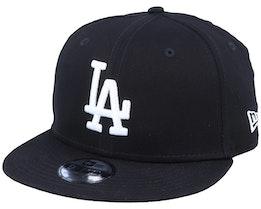 Kids Los Angeles Dodgers Essential 9Fifty Black/White Snapback - New Era