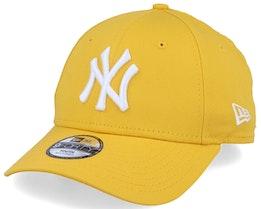 Kids New York Yankees Essential 9Forty Yellow/White Adjustable - New Era
