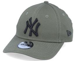 Kids New York Yankees Essential 9Forty Olive/Black Adjustable - New Era