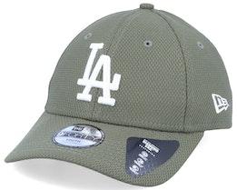 Kids Los Angeles Dodgers Diamond Era Essential 9Forty Green/White Adjustable - New Era