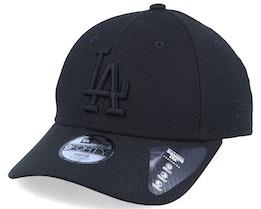 Kids Los Angeles Dodgers Diamond Era Essential 9Forty Black/Black Adjustable - New Era