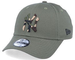 Kids New York Yankees Camo Infill 9Forty Olive/Camo Adjustable - New Era