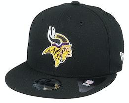Kids Minnesota Vikings NFL 20 Draft Official 9Fifty Black Snapback - New Era