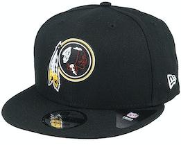 Washington Redskins NFL 20 Draft Official 9Fifty Black Snapback - New Era