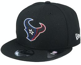 Houston Texans NFL 20 Draft Official 9Fifty Black Snapback - New Era