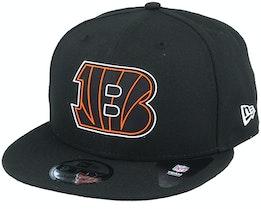 Cincinnati Bengals NFL 20 Draft Official 9Fifty Black Snapback - New Era