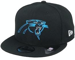 Carolina Panthers NFL 20 Draft Official 9Fifty Black Snapback - New Era