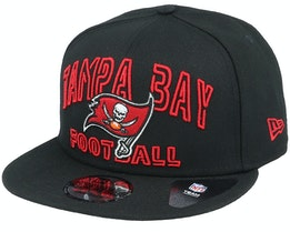 Tampa Bay Buccaneers NFL 20 Draft Alt 9Fifty Black Snapback - New Era
