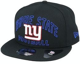 New York Giants NFL 20 Draft Alt 9Fifty Black Snapback - New Era