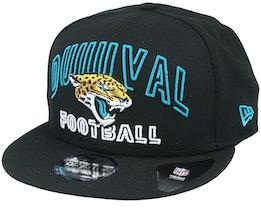 Jacksonville Jaguars NFL 20 Draft Alt 9Fifty Black Snapback - New Era