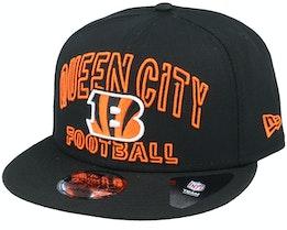 Cincinnati Bengals NFL 20 Draft Alt 9Fifty Black Snapback - New Era