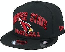 Arizona Cardinals NFL 20 Draft Alt 9Fifty Black Snapback - New Era