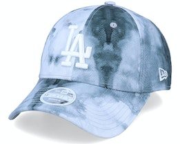 Los Angeles Dodgers Womens Contemporary 9Forty Black/White Adjustable - New Era