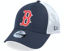 Kids Boston Red Sox Summer League 9Forty OTC Navy/White Trucker - New Era