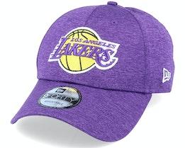 LA Lakers Shadow Tech 9Forty OTC Purple Adjustable - New Era
