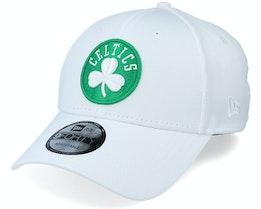 Boston Celtics Shadow Tech 9Forty OTC White Adjustable - New Era